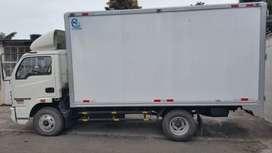 Camión marca Cronos excelente estado placas naranjas ,cooperado ,exonerado de matricula y con puesto de trabajo