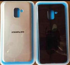 Protector Silicona Samsung A8 Plus