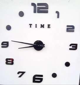 Elegante Reloj de Pared con diseño Moderno 3D para tu hogar u oficina