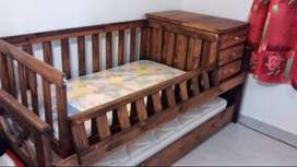 Triple cama cuna funcional