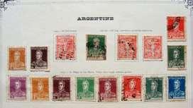 Sellos postales de Argentina 1921 – 1923