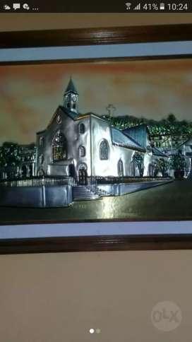 Vendo Lindo cuadro de la Iglesia de Bahia