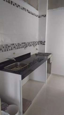 Apartamento ubicado Terranova Jamundí 5 piso sin ascensor.2 habitaciones ,cocina,2baños
