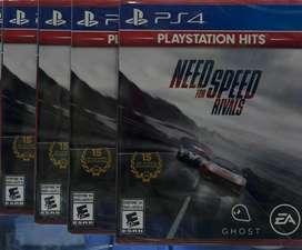Need For Speed Rivals Ps4 Nuevo y Sellado Envios