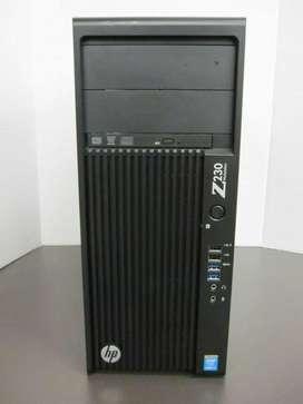 Computador Hp Z230 Workstation I74790 3.60ghz 32gb Ram 256gb Ssd
