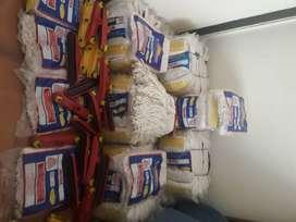 Traperos por docena 100% Algodón / Productos de aseo de alta calidad