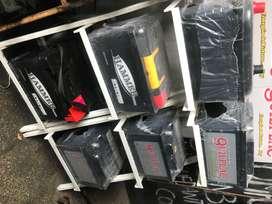 Baterías nuevas y usadas