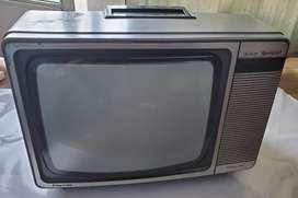 Tv televisor color sharp antiguo funciona pinkwas 14 r