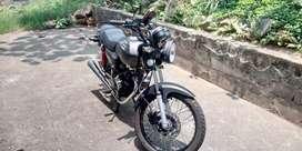 Motocicleta en buen estado
