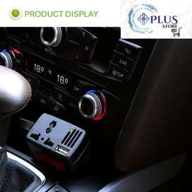 convertidor de potencia inversor de voltaje cargador USB carga accesorios electrónicos