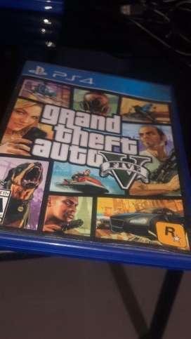 GTA 5 PS4 original negociable