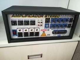 Amplificador 3500watts operativo