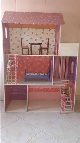 Vendo casa de muñecas usada