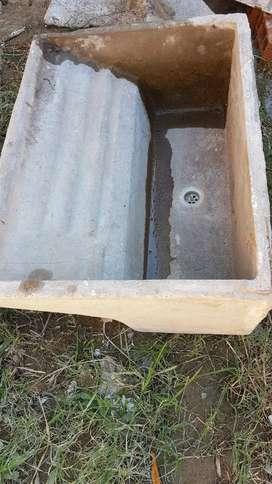Pileta de cemento
