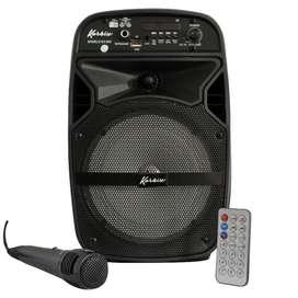 Cabina Parlante Bluetooth Portatil Recargable 6.5 Pulgadas !!NUEVO!!