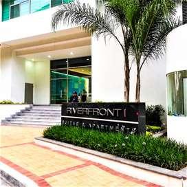 alquilo suite edificio RIVERFRONT guayaquil