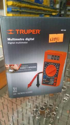 Multimetro Digital Truper