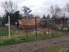 Vendo casa prefabricada con terreno