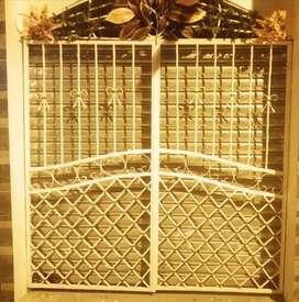 Puerta doble hoja de 2m x 2m