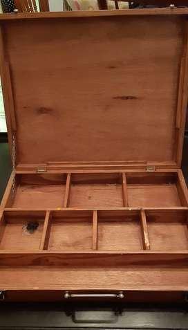 Caja de Madera para pinturas