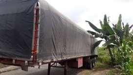 Plataforma 3 ejes doble boya 2 ejes levadisos caravana en perfecto estado 10000 dolares negociables llantas en buenas