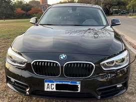 Vendo BMW 118i sport- impecable. 2018- 19.00km. Butas cuero, caja automatica