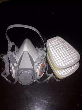 Respirador de pieza facial 3M de media cara serie 6000