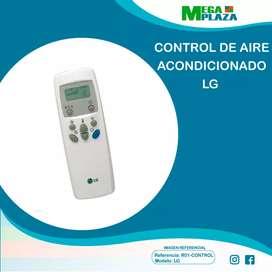 Control de aire acondicionado LG