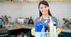 Busco trabajo de empleada domestica puertas afuera oh tiempo completo oh medio tiempo