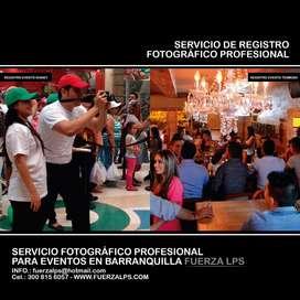 SERVICIO DE REGISTRO FOTOGRÁFICO PROFESIONAL