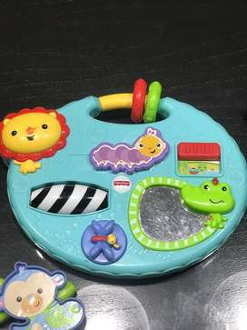 Moviles y tablero fisher price