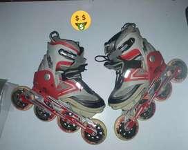 Vendo patines semi-profesionales en buen estado