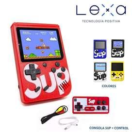 Game Boy con Control SUP