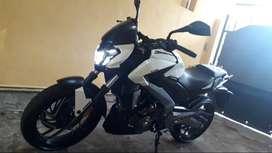 Moto bajaj dominard400 año 2018