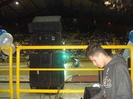 Alquiler sonido-luces-video beam para eventos