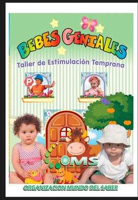 Taller de estimulacion temprana Bebes Geniales