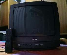 Vendo Tv 14 Pulgadas Philips con Control