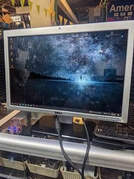 Monitor Dell de 20 pulgadas