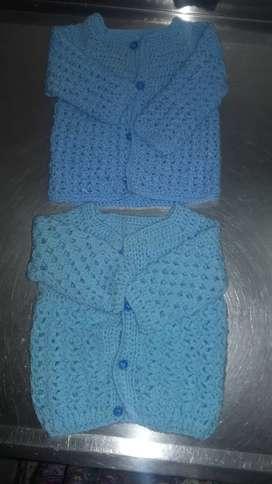 Camperitas tejidas al croche sin uso