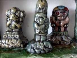 Figuritas precolombinas para coleccion