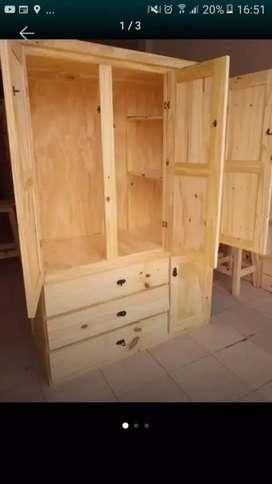 Muebles Ropero de pino económico super oferta!!