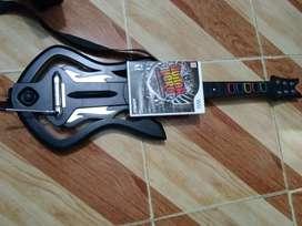 Guitar hero guitarra wii