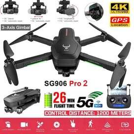 Sg906 Pro2 Camara 4k Gps Gimble Cardan 3 Ejes Estabilizador drone dron 3 axis