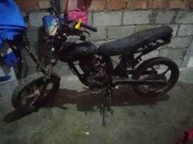 Vendo moto como repuesto