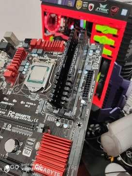 Combo board z97x Intel i7 4790k 16gb ram corsair