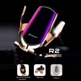 soporte de celular con carga inalambrica para carro