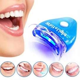 Kit De Blanqueamiento Dental White Ligth Aplicador Facil Uso