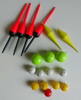 Lote Boyas Plástico para Pesca olxjess la boca