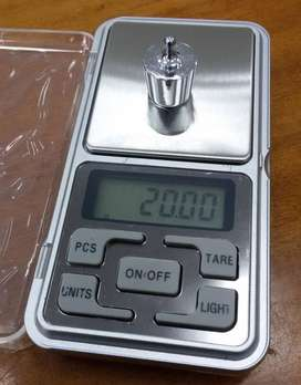 Balanza digital 500g, precisión 0.01g