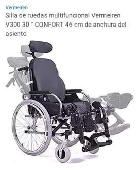 SILLA DE RUEDAS MULTIFUNCIONAL